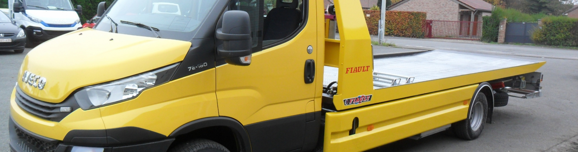 PLAT'TRANS PF30 Fiault sur IVECO Daily