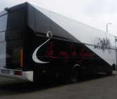 Bus DAF pour promotions, animations, expositions