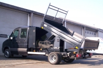 Tipper on VW Crafter