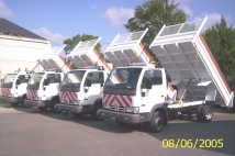 Tippers for SPW