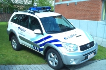 Intervention vehicle for police