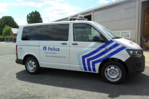 Mobile office for Police Zone