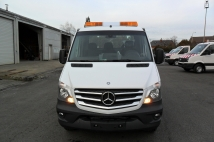 Tow truck on Mercedes Sprinter vehicle