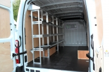 Workshop vehicle for roofing business