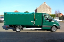 Tipper with case and covering