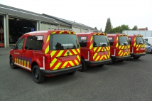 VW CADDY - Brandweer Zone HAINAUT CENTRE