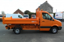 Tipper on VW Crafter for SPW WALLONIE