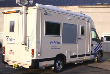 Laboratoire mobile zone de police