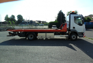 Tow truck on Daf vehicle