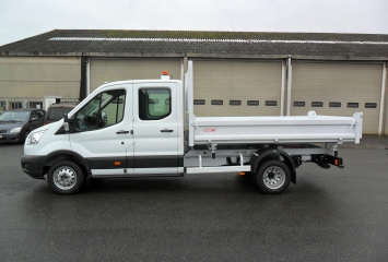 Tipper on FORD TRANSIT